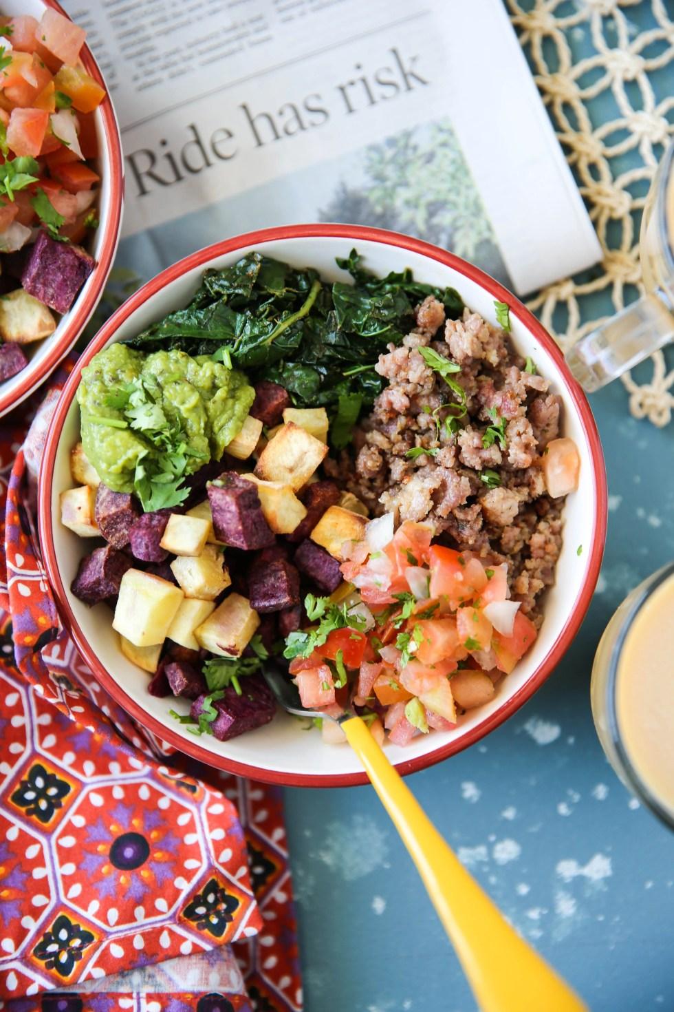 PaleOMG Egg-Free Breakfast Bowl