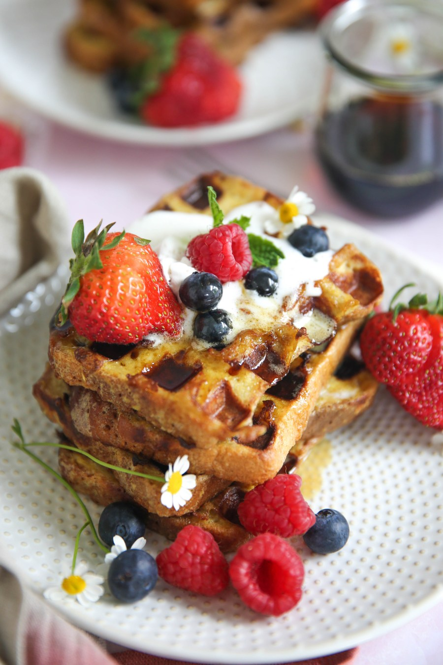PaleOMG French Toast Waffles