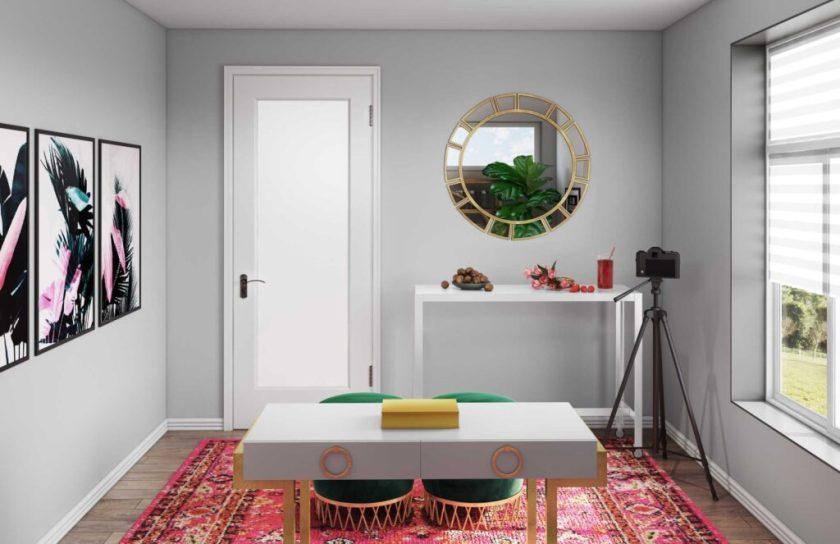 PaleOMG Designing My Home Office
