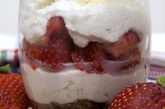 Paleo indulgencias: Fresas, Nata y chocolate