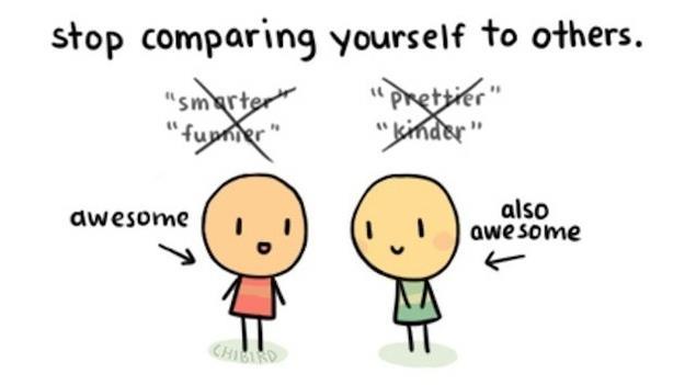 deja de compararte