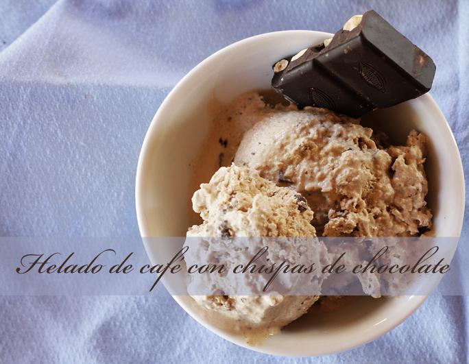 helado paleo de café y chocolate