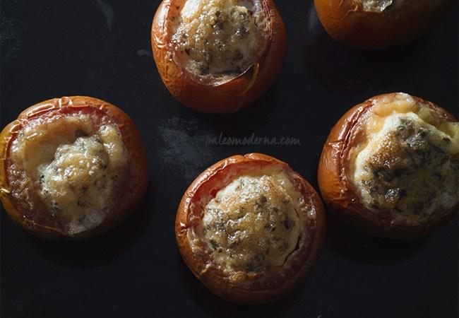 Tomates rellenos o minifrittatas {paleo, whole30}