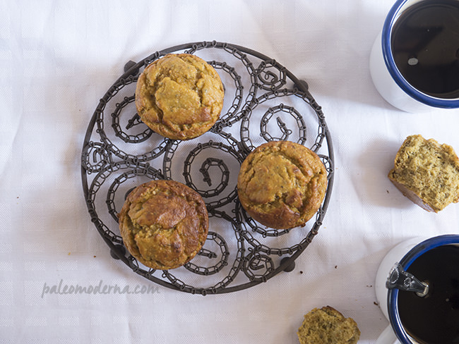 muffins de mango paleo