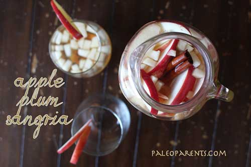 Paleo Parents – APPLE PLUM SANGRIA
