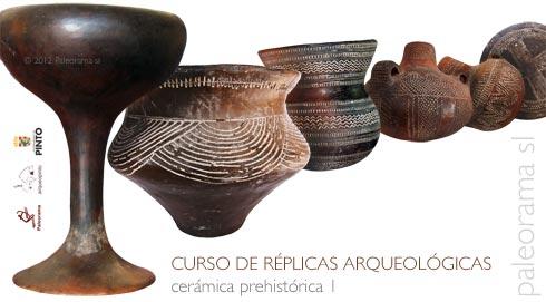 curso replica arqueologica ceramica prehistorica paleorama