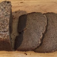 Paleo Bread-Maker Bread. Almond, Chia Seed & Walnut Flour- Grainfree, Glutenfree, Dairyfree