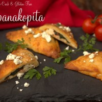 Low Carb Spanakopita from Keto Adapted. Grain & Gluten Free