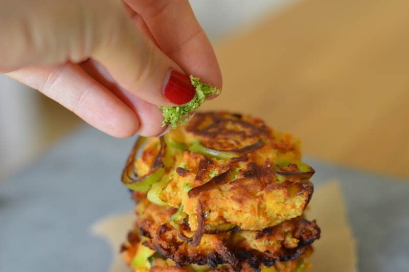 Sweet potato leek and lime fritters paleowithsp sweet potato fritters forumfinder Image collections