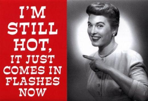 hot flashes on paleo diet