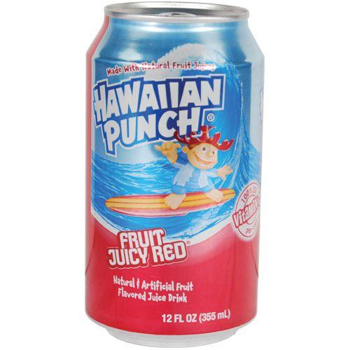 Hawaiian Punch can