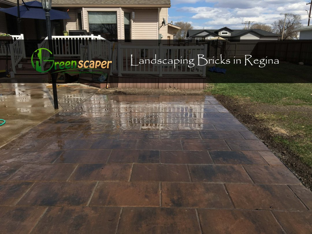 Landscaping Bricks in Regina