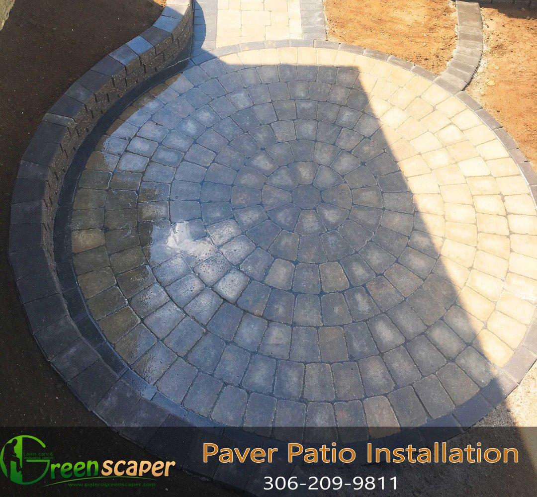 Paver Patio Installation in Regina