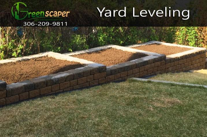 Yard Leveling Regina