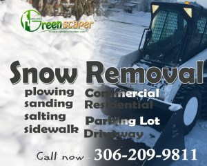 snow removal in Regina 20178
