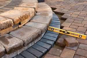 Expert in paver patio installation