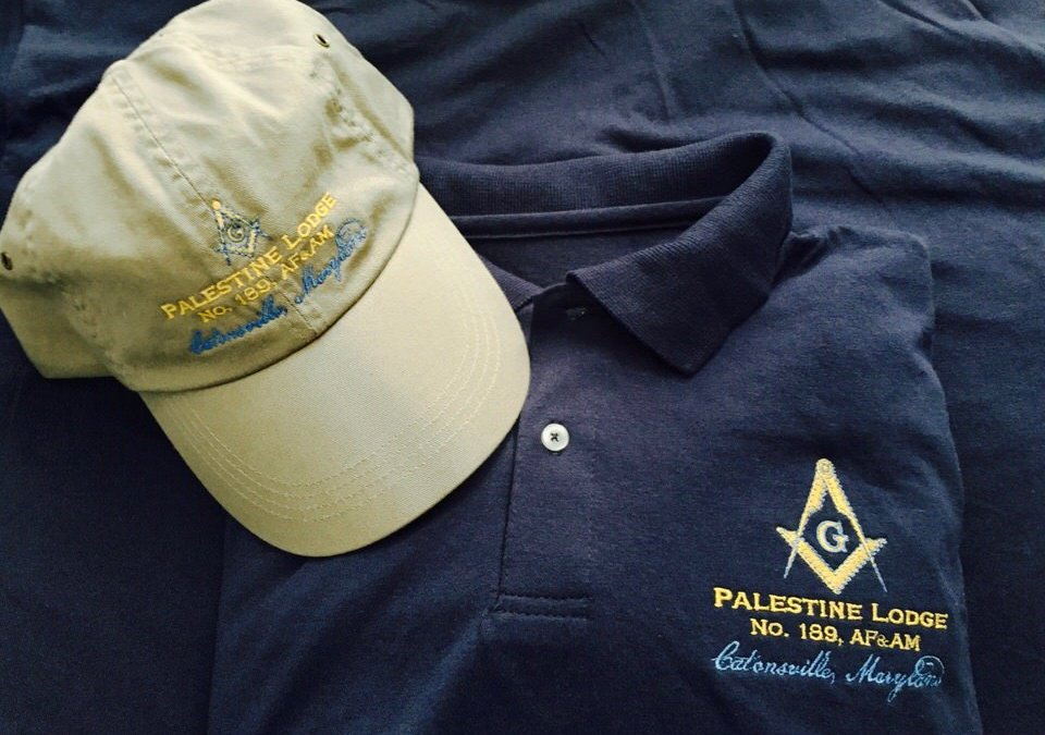 Lodge No. 189 – Polos and Caps now available