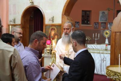Easter Services in Taybeh, Palestine