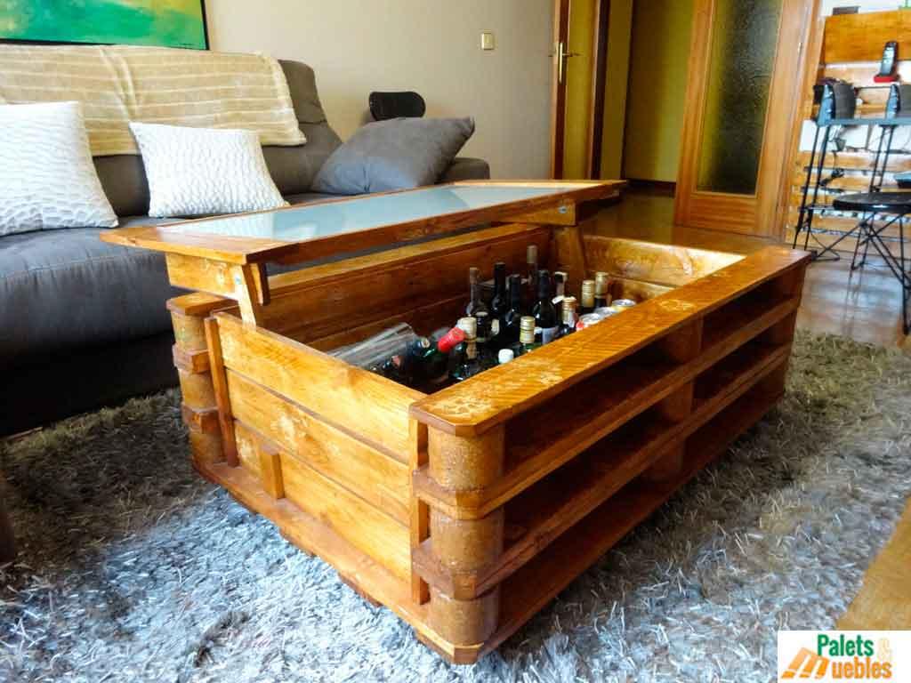 Mesa de centro arc n palets y muebles - Centro reto salamanca recogida muebles ...