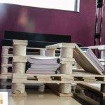 decoracion-mesa-muebles con palets