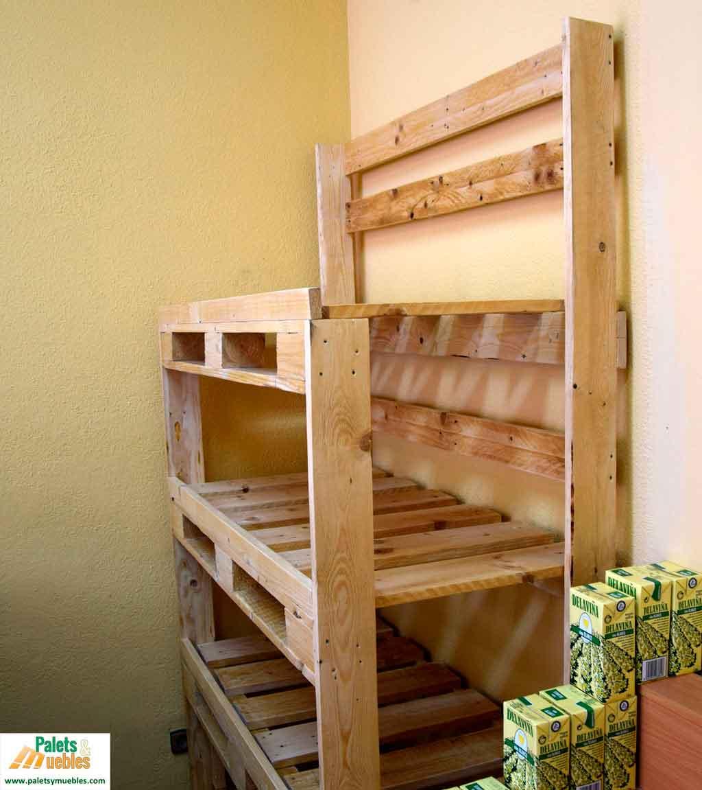 Mobiliario con palets para fruter a palets y muebles - Estructuras con palets ...