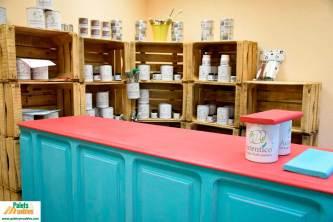 autentico chalk paint, palets y muebles