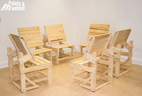 sillon mesa palets y muebles