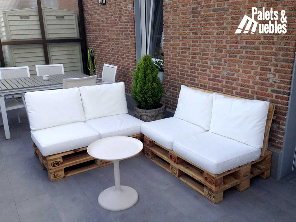Sof de palets para chill out palets y muebles - Muebles chill out ...