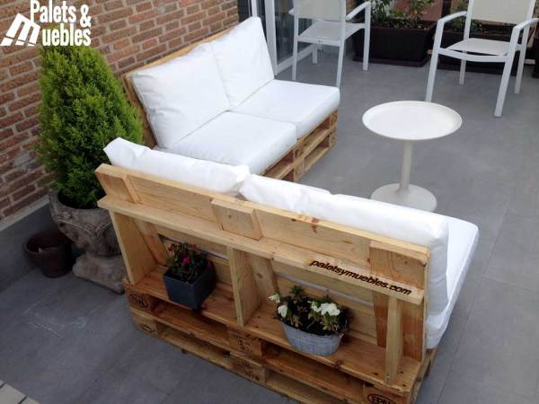 chill-out sofa de madera