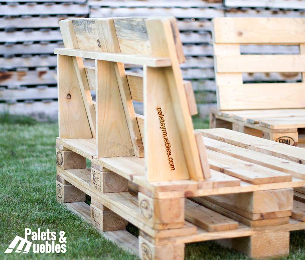 Muebles jardin con palets muebles de jardin con palets for Palets de madera para jardin