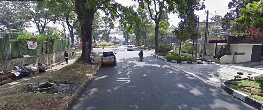 Jalan Angker di Bandung