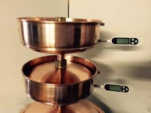 Pistorius tányér hőmérővel