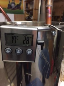 Riasztós hőmérő