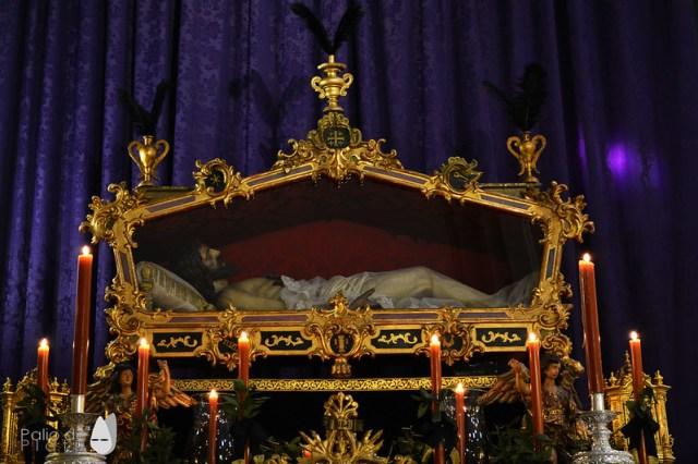 Actos con motivo del 50 aniversario del Cristo Yacente de la Paz y la  Unidad - Málaga