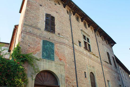 Palazzo Mazzola, sede del Museo del Palio di Asti