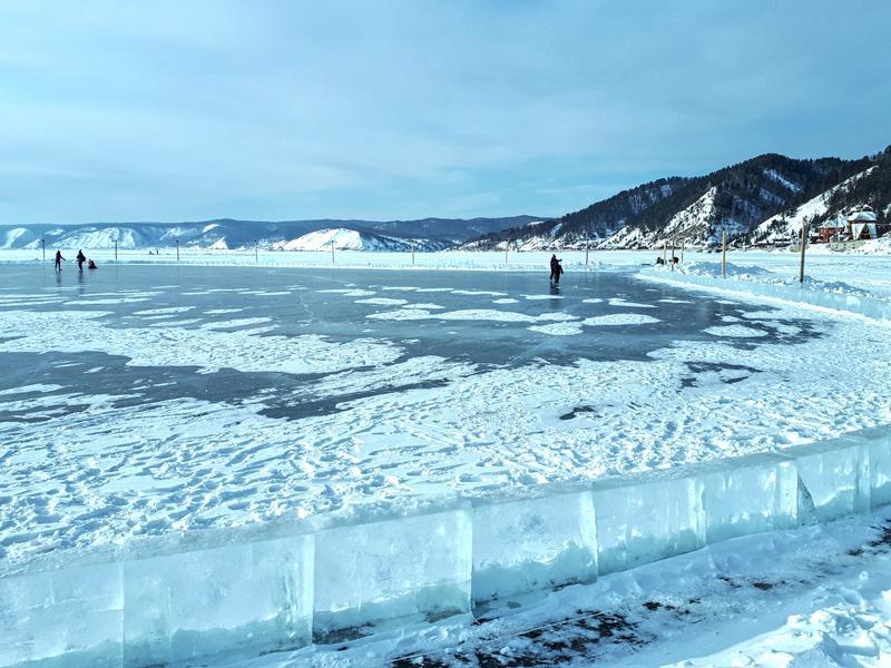 lake baikal ice rink