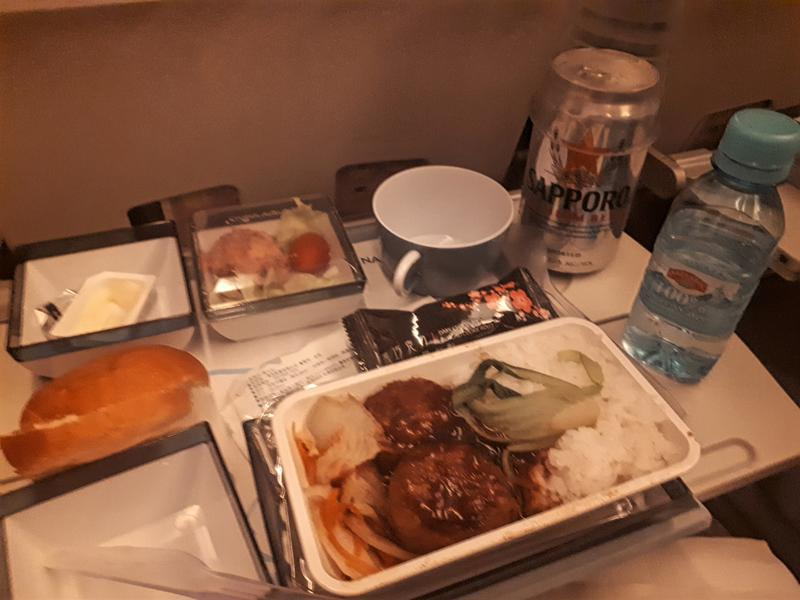 china airlines dinner meal