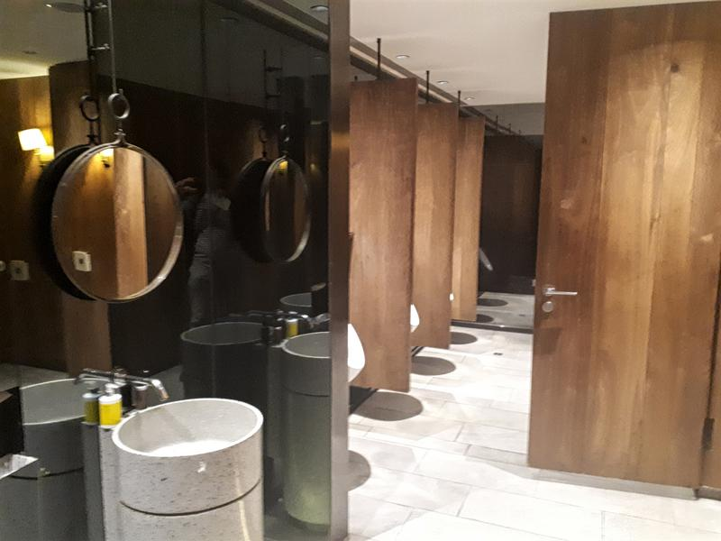 china airlines lounge toilets