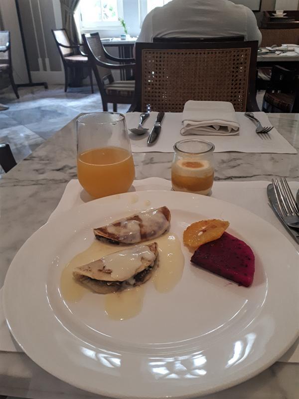 breakfast hermitage buffet
