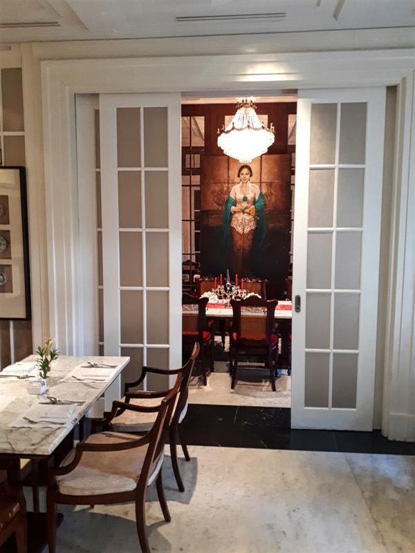hermitage breakfast room