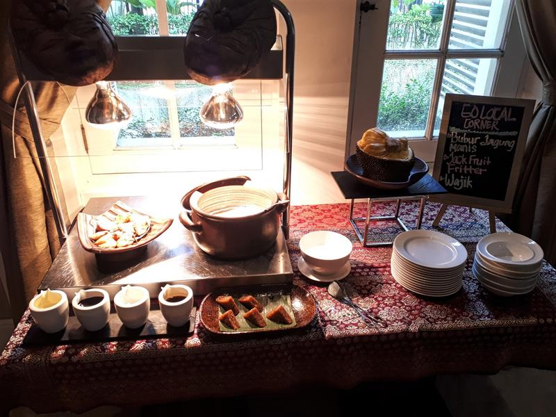 hermitage breakfast spread