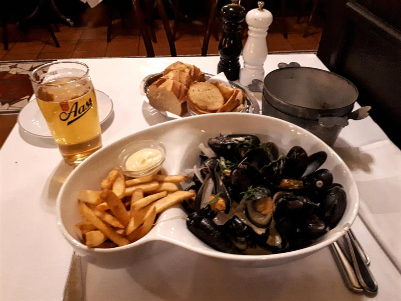 moules frites meal oslo