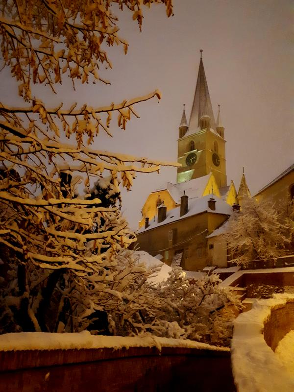 sibiu cathedral night trip report