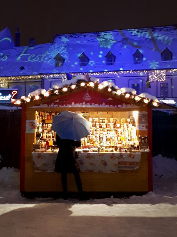christmas market stall sibiu