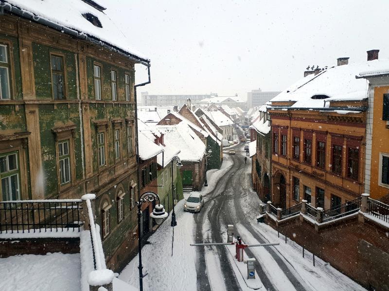 sibiu lower town