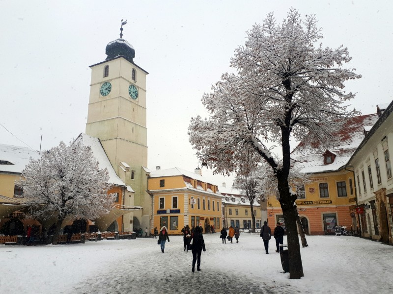 sibiu tower square