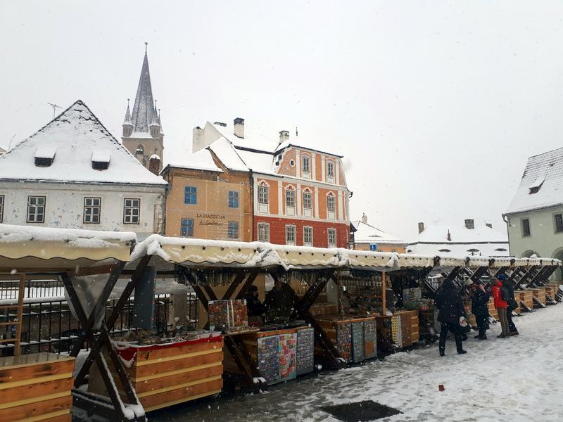 Piaţa Mică christmas market