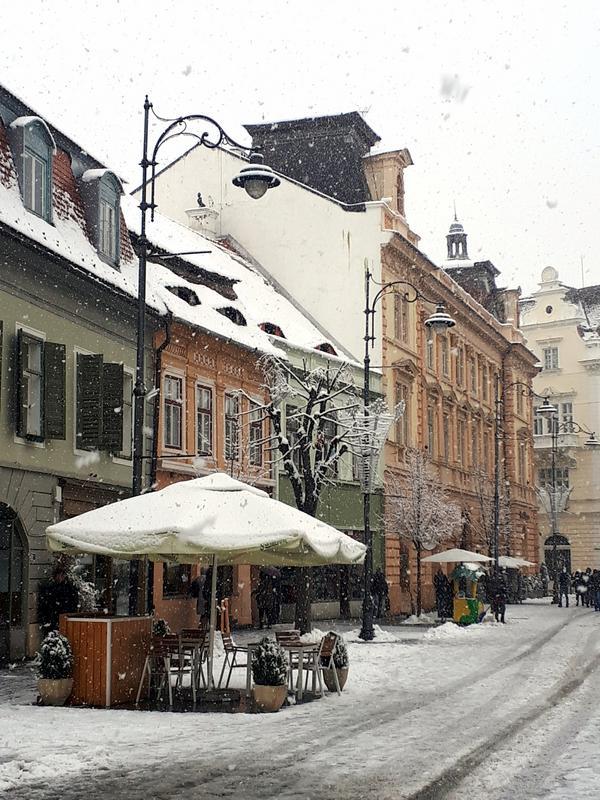 sibiu shopping street trip report