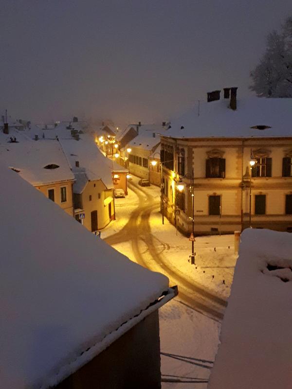 lower town dusk sibiu