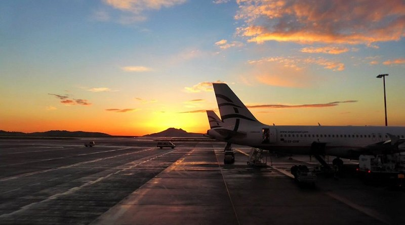 aegean airlines airplanes athens